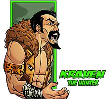 Kraven the Hunter by dlxartist