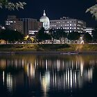 Capitol Dome at Night by Russell Fry