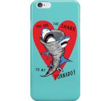 Shark To My Tornado iPhone Case/Skin