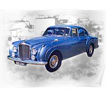 1956 Bentley Continental Poster