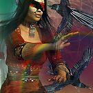 raven woman by shadowlea