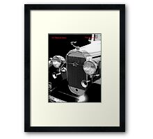 1932 Buick Saloon Framed Print