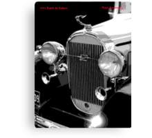 1932 Buick Saloon Canvas Print