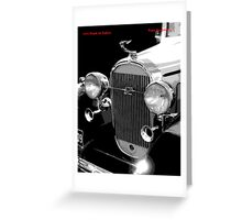 1932 Buick Saloon Greeting Card