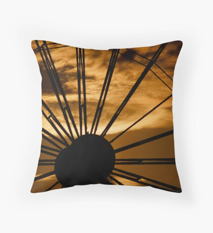 Ferris Throw Pillow
