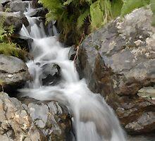 waterfall by Simon Duckworth