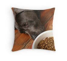 boring food... Throw Pillow