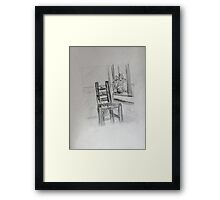 Vincent's Chair Framed Print