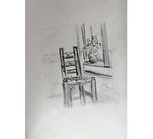 Vincent's Chair Photographic Print