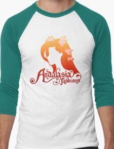 Andalasia Fashions Men's Baseball ¾ T-Shirt