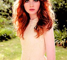 Karen Gillan Color by Maninthefez