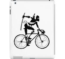 Attack of the Bicycle Ninja iPad Case/Skin
