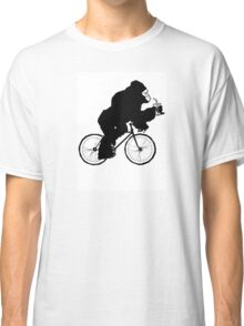 Silverback Gorilla on a Bike Classic T-Shirt