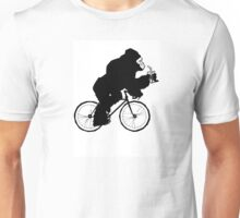 Silverback Gorilla on a Bike Unisex T-Shirt