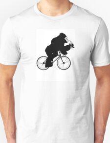 Silverback Gorilla on a Bike T-Shirt