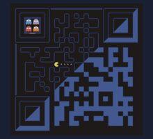 QR Pac-Man by Shod-Tee