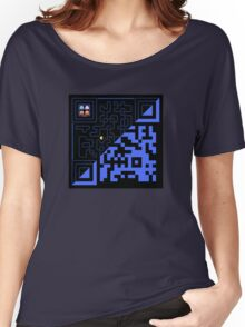 QR Pac-Man Women's Relaxed Fit T-Shirt