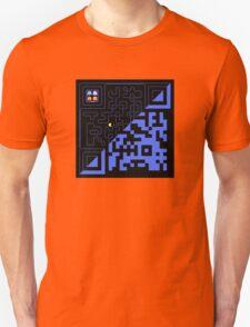 QR Pac-Man Unisex T-Shirt