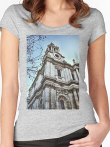 St. Paul's Cathedral Women's Fitted Scoop T-Shirt