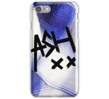 Blue Flannel Ash XX case iPhone Case/Skin