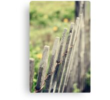 Withstanding Canvas Print
