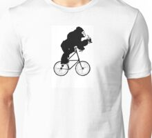 The Gorilla Tall Bike Unisex T-Shirt