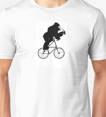 The Gorilla Tall Bike Unisex T-Shirt