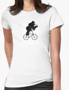 The Gorilla Tall Bike Womens Fitted T-Shirt