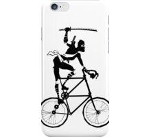 Attack of the Tallbike Ninja iPhone Case/Skin