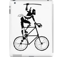 Attack of the Tallbike Ninja grosvenordesign grosvenor John  iPad Case/Skin