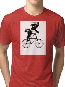 The Pirate Tall Bike Tri-blend T-Shirt