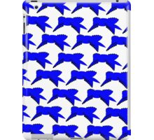 Blue Ribbon Repeating iPad Case/Skin