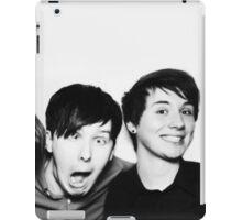 Black and White// Dan And Phil!!! iPad Case/Skin
