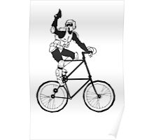 The Scout Trooper Tall Bike Design Poster