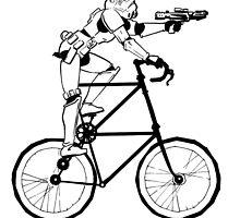 The Stormtrooper Tall Bike by grosvenordesign