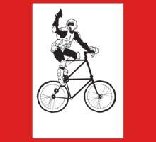 The Scout Trooper Tall Bike Design Kids Tee