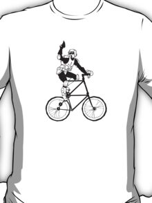 The Scout Trooper Tall Bike Design T-Shirt
