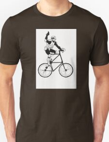 The Scout Trooper Tall Bike Design T-Shirt
