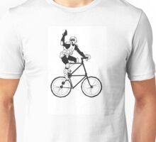 The Scout Trooper Tall Bike Design Unisex T-Shirt