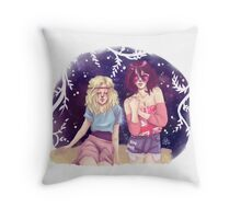Historia & Mikasa Throw Pillow