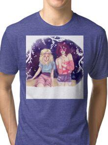 Historia & Mikasa Tri-blend T-Shirt