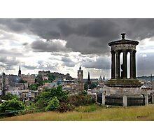 Edinburgh Castle from Calton Hill Photographic Print