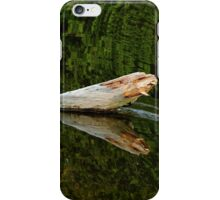 Falling Tree Reflections In River iPhone Case/Skin