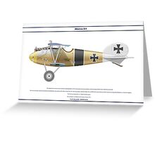Albatros D.V Jasta 10 - 2 Greeting Card