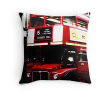 London bus. Throw Pillow