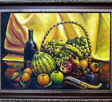 Still Life with Basket by keci