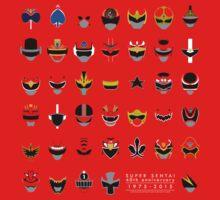 Super Sentai 40th Anniversary 1975-2015 by calicostonewolf