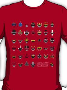 Super Sentai 40th Anniversary 1975-2015 T-Shirt
