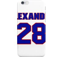 National Hockey player Alexander Semin jersey 28 iPhone Case/Skin