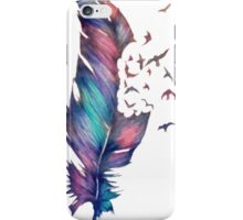 Flying Feather iPhone Case/Skin